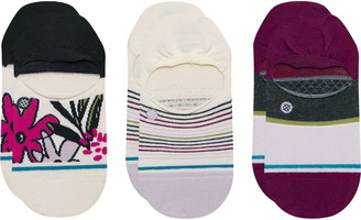 Stance Assorted 3-Pack No Show Socks