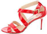 Jimmy Choo Patent Leather Multistrap Sandals