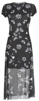 Desigual AUSTIN women's Long Dress in Black