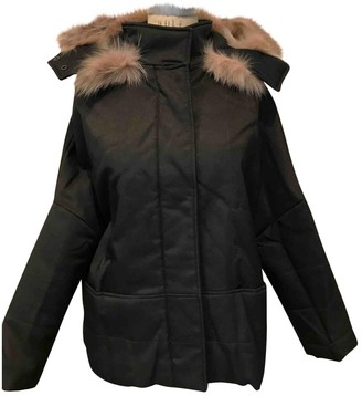 Jo No Fui Anthracite Synthetic Coats