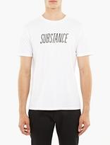 A.P.C. White Cotton Substance T-Shirt