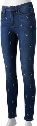 Lauren Conrad Women's Feel Good High-Waisted Skinny Jeans