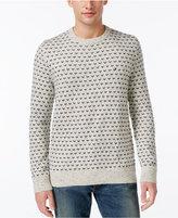 Tommy Hilfiger Men's Big & Tall Geometric Crew-Neck Sweater