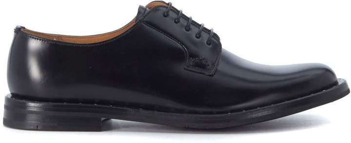 Church's Rebecca Black Brushed Leather Lace Up Shoes
