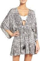 Hinge Women's Royal Tiles Cover-Up Kimono