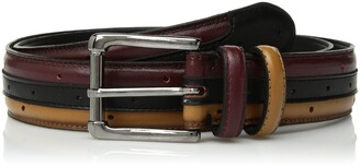 Stacy Adams Men's Drexler 33 mm Leather Belt