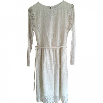 MUNTHE White Lace Dress for Women