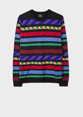 Men's 'Rope Stripe' Cotton And Wool-Blend Sweater