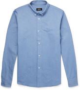 A.p.c. - Slim-fit Cotton Oxford Shirt