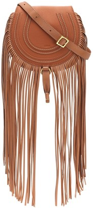Chloã© Marcie Mini leather shoulder bag