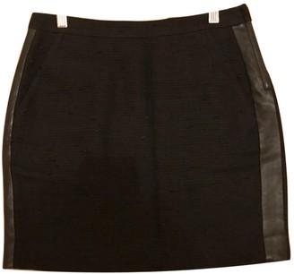 Claudie Pierlot Black Linen Skirt for Women