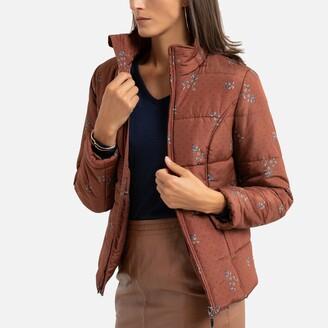 Anne Weyburn Short Padded Jacket with Zip Fastening