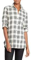 Lauren Ralph Lauren Petite Plaid Cotton Button-Down Shirt