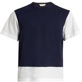 Marni Bi-colour Cotton-jersey T-shirt