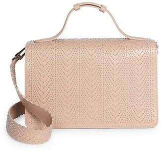 Alaia Medium Franca Studded Leather Shoulder Bag