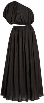 Matteau Cocoon One-Shoulder Maxi Dress