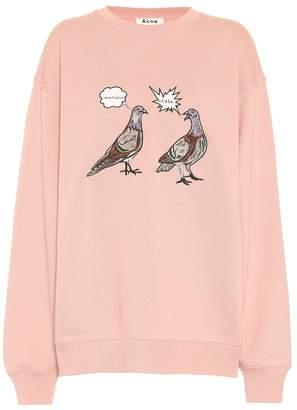 Acne Studios Embroidered cotton sweatshirt