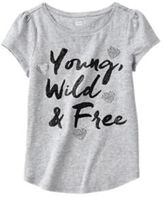 Crazy 8 Young, Wild & Free Tee