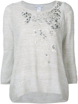 Avant Toi metallic detail sweater - women - Linen/Flax/Polyimide - L
