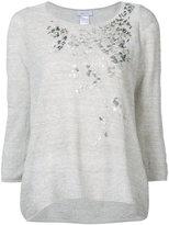 Avant Toi metallic detail sweater - women - Linen/Flax/Polyimide - M