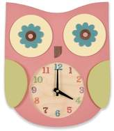 Tree by Kerri Lee Owl Clock, Pink