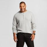 Merona Men's Big & Tall Long Sleeve Thermal Henley