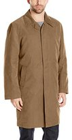 London Fog Men's Single Breasted Rain Coat with Zip Out Liner