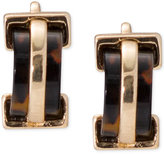 Lauren Ralph Lauren Gold-Tone Tortoiseshell Clip-on Earrings