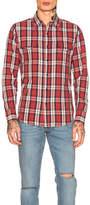 Saint Laurent Flannel Shirt