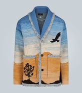 Alanui Joshua Tree cashmere cardigan