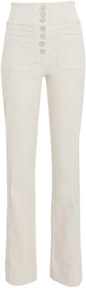 Ulla Johnson Mars High-Rise Straight-Leg Jeans
