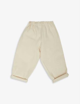 Pippins Denim Elasticated-waist cotton jeans 1-10 years