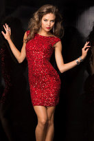 Scala Dress In Red 48484