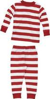 Under the Nile Long Johns Top - Rugby Red Stripe 2 Years by