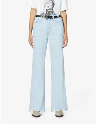 GRLFRND Carla flared high-rise jeans