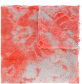 Suzusan - printed scarf - unisex - Cashmere - One Size