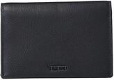 Tumi Nassau Multi Window Card Case (Black Textured) Wallet