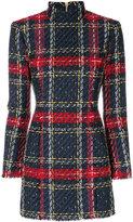 Balmain tweed dress - women - Cotton/Linen/Flax/Acrylic/Wool - 34