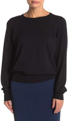 Wolford Mellow Sea Tulle Back Pullover