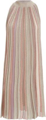 Missoni A-Line Striped Sleeveless Dress
