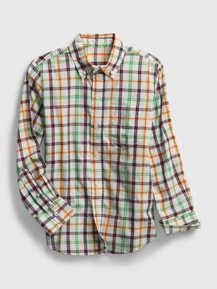 Gap Kids Plaid Shirt
