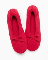Soma Intimates Ballet Slippers Ruby