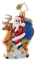 Christopher Radko Love My Ride Santa Claus Figurine