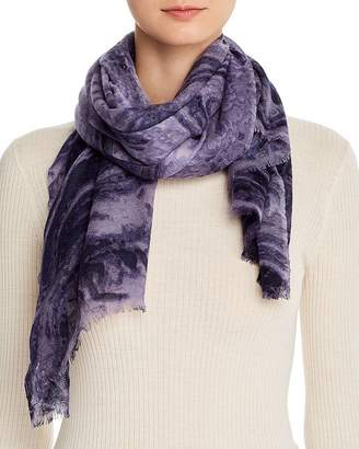 Bloomingdale's Marble Print Wool Scarf - 100% Exclusive