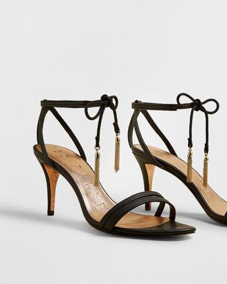 Ted Baker JELISSA Tassel tie strappy sandals