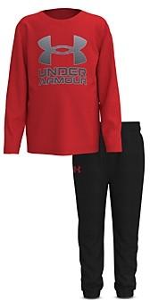 Under Armour Boys' Horizon Logo Pullover & Jogger Pants Set - Little Kid
