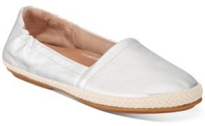 FitFlop Women's Siren Glitter-Stripe Espadrilles Flats Women's Shoes