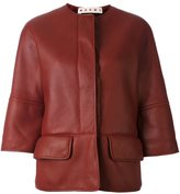 Marni shearling lined jacket - women - Sheep Skin/Shearling - 44