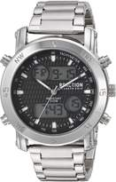 Kenneth Cole Reaction Men's Quartz Metal and Stainless Steel Casual Watch, Color:Silver-Toned (Model: RKC0217001)