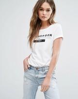 Vero Moda Copenhagen Slogan T-Shirt